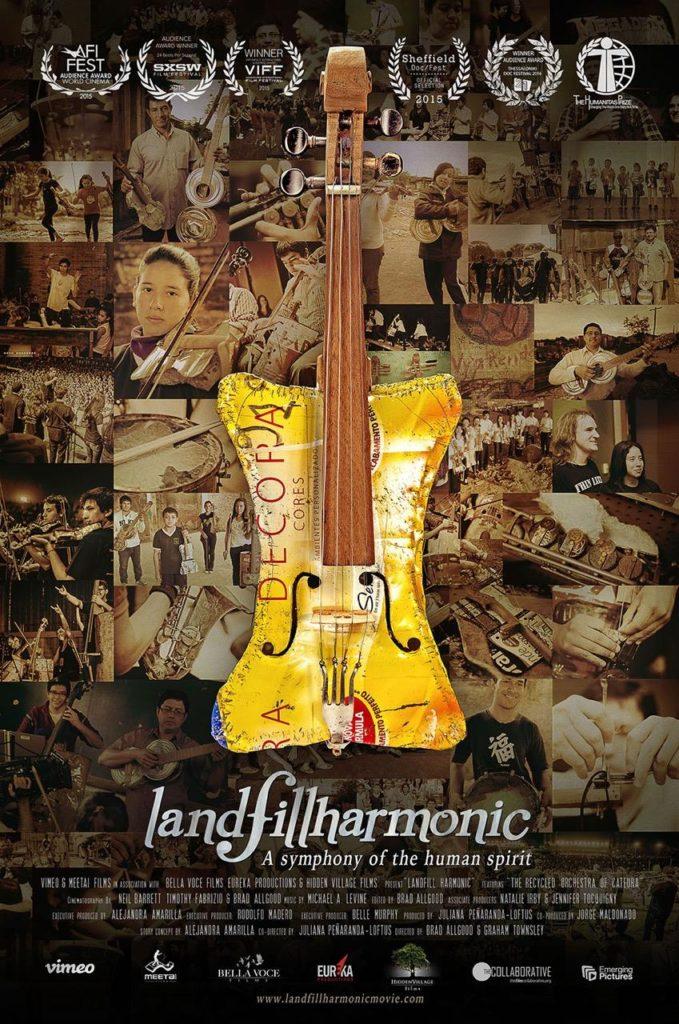 Landfill Harmonic Theatrical poster
