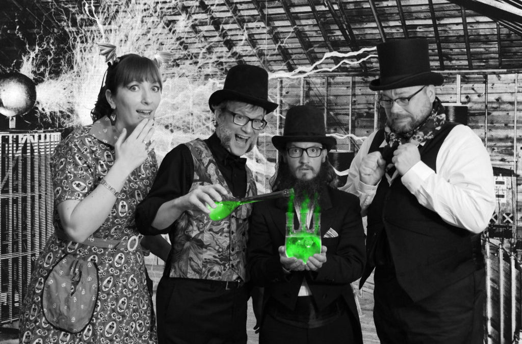 The Invincible Czars bring silent film magic to the Tower Theater